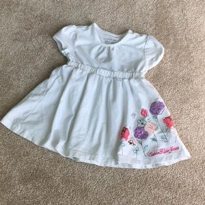 Calvin Klein Jeans White Dress 2T
